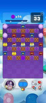 Stage 175 from Dr. Mario World since version 2.1.0
