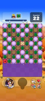 Stage 805 from Dr. Mario World