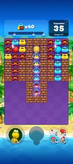 Stage 87 from Dr. Mario World since March 18, 2021