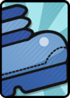 A Huge Line Jump Card in Paper Mario: Color Splash.