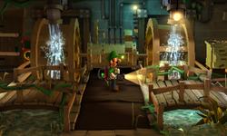 The Hydro Generator segment from Luigi's Mansion: Dark Moon.