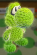 Inkling Squid amiibo from Yoshi's Woolly World