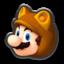 Tanooki Mario's icon from Mario Kart 8