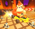 The icon of the Diddy Kong Cup challenge from the Jungle Tour in Mario Kart Tour.