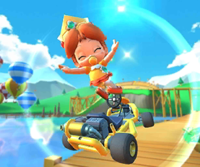 The Bowser Jr. Cup Challenge from the London Tour of Mario Kart Tour