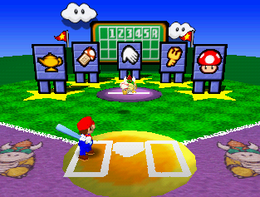 Hey, Batter, Batter! from Mario Party 3.