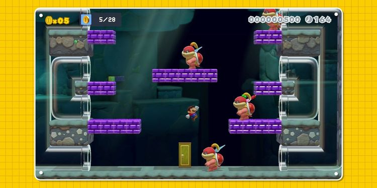 Picture shown with the tenth question in Super Mario Maker 2 Trivia Quiz
