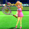 Princess Peach's taunt from Mario Sports Superstars
