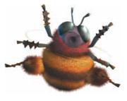 A Big Bee from Donkey Kong Jungle Beat.