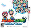 North America box art of Mario & Luigi: Dream Team