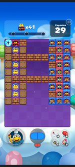 Stage 196 from Dr. Mario World