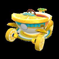 The Tea Coupe from Mario Kart Tour