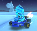 The icon of the King Boo Cup challenge from the Peach Tour in Mario Kart Tour.