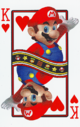 The King of Hearts card from the NAP-03 deck.
