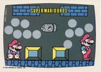 A Nintendo Game Pack scratch-off game card of Super Mario Bros. (Screen 7 of 10)
