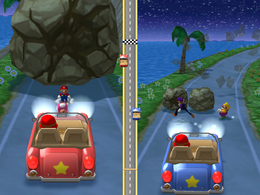 Rocky Road at night from Mario Party 6