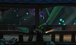The Skybridge segment from Luigi's Mansion: Dark Moon.