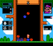 The SNES version of Wario's Woods.