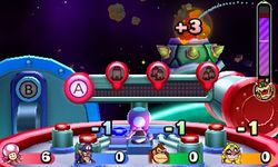 Bowser's Hit-or-Missile Mania from Mario Party: Star Rush