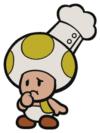 Chef Kinopio in Paper Mario: The Origami King