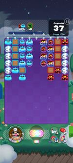 Stage 1090 from Dr. Mario World