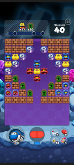 Stage 514 from Dr. Mario World