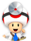 Icon of Dr. Toad from Dr. Mario World