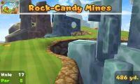 Hole 17 of Rock-Candy Mines (golf course) in Mario Golf: World Tour