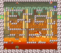 Level 5-7 map in the game Mario & Wario.