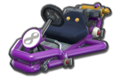 Thumbnail of a purple Pipe Frame (with 8 icon), in Mario Kart 8.