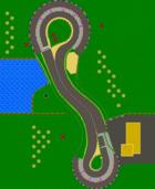 <small>GCN</small> Luigi Circuit map