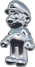 Mario's Silver Suit icon in Mario Kart Live: Home Circuit