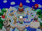 The map of Mario's Rainbow Castle