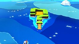 ? Island in Paper Mario: The Origami King