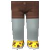 "The ""Cheetah Runners"" Mii bottom"