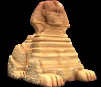 Sphynx's model from Super Mario Odyssey.