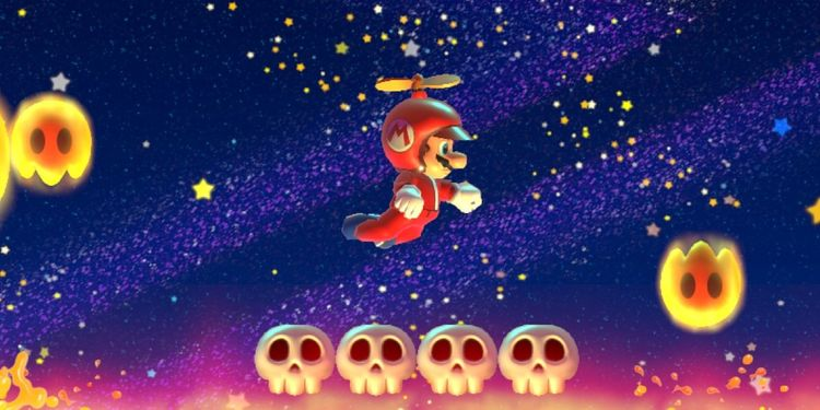 Picture shown with the sixth question in Angry Sun Super Mario Maker 2 Quiz