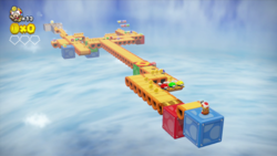 Drop-Road Dash from Captain Toad: Treasure Tracker