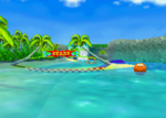 Whale Bay, from Diddy Kong Racing.