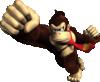Donkey Kong in Donkey Kong Jungle Beat.