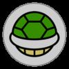 Koopa Troopa emblem from Mario Kart 8