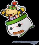 Artwork of Paper Bowser Jr., from Mario & Luigi: Paper Jam