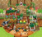 Mario Party DS Board: Wiggler's Garden
