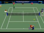 Hard Court in the game Mario Tennis (Nintendo 64).