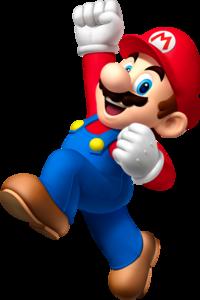 Artwork of Mario in Mario Party: Island Tour