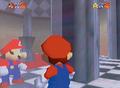 Mario in mirror room SM64 prerelease.png