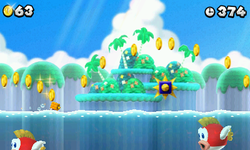 World 3-B from New Super Mario Bros. 2