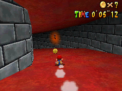Mario in The Princess's Secret Slide