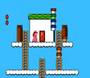 The mushroom block glitch from Super Mario Bros. 2