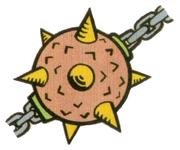 Artwork of a Tōsanbōru, from Super Mario Land 2: 6 Golden Coins.